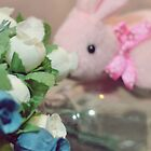 Bunny Collection #6 - a bunny and some more flowers by Cyndy Ejanda