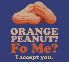 Orange Peanut, I accept You. by killerdye