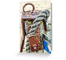 Ropey Greeting Card