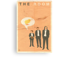 The Room - Cheep Cheep Cheep Canvas Print
