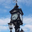 Clock in Ullapool by kalaryder