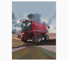 Case IH 2188 Combine by bradaburns