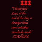 Love and Mistakes by ScandalFan