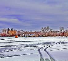 Frozen Lake by EBArt