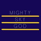 Mighty sky god by scarfandjumper