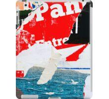 Old posters vintage grunge  iPad Cases iPad Case/Skin