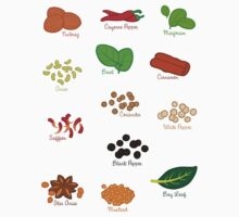Spice Labels 1 by Joumana Medlej
