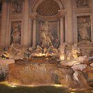 Fontana di Trevi, Rome by parvmos
