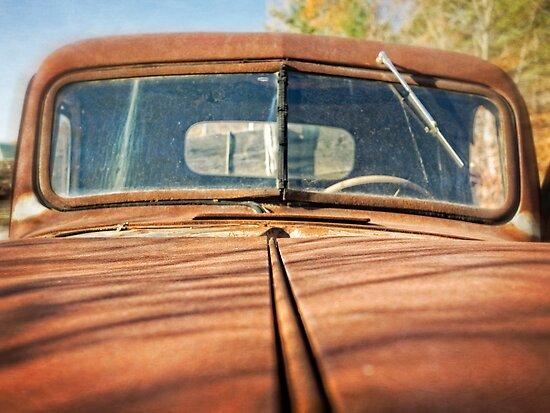 Rusty Old Pick Up Truck by Edward Fielding