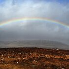 Rannoch Moor Rainbow by Jim Barter