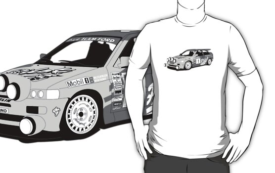 Machina Attire - 'Malcolm Wilson' Michelin Pilot Ford Escort Cosworth  by Twain Forsythe
