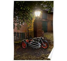 BMW R12 with sidecar Poster