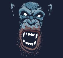 Rage Infected Chimp! by nikholmes