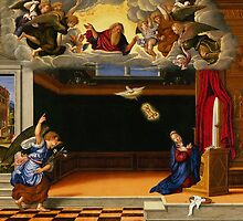 The Annunciation, c.1540 by Bridgeman Art Library