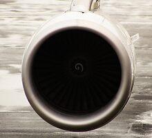 Airplane Engine by Sciuridae