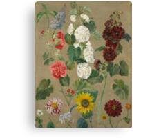 Untitled (Flowers) Canvas Print