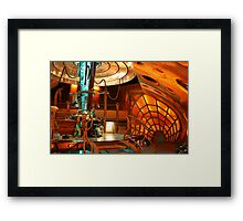 Doctor Who Tardis Interior Framed Print