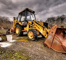 The Rusty Digger by Rob Hawkins