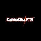 ChimneySwift11™ Official iPad Case - Black Horizontal by ChimneySwift11