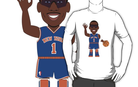 NBAToon of Amar'e Stoudemire, player of New York Knicks by D4RK0