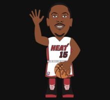 NBAToon of Mario Chalmers, player of Miami Heat by D4RK0