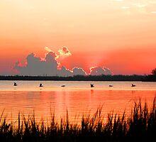 VILLAGE SUNRISE by TomBaumker