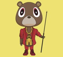 My Beautiful Dark Twisted Fantasy Dropout Bear by Degausser