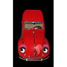    CAR VOLKS WAGON BUG IPHONE CASE #2 (GLAMOUR BUG) by  Bonita Lalonde