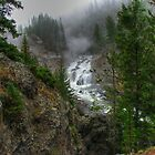 Firehole Fog Monster by JamesA1