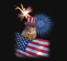 Patriotic Squirrel by jkartlife
