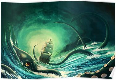 Kraken - version 2 by Chris-Garrett