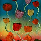 Tulips Ascending by George Hunter