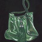 Green Handbag by MagsWilliamson