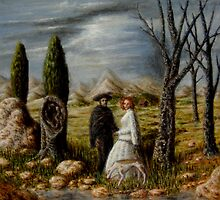 Apparition in a Landscape by Jósean Figueroa