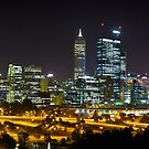 PERTH BY NIGHT by FLYINGSCOTSMAN