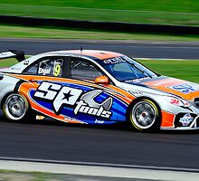 Maro Engel | Test Day | Sydney Motor Sports Park | 2013 by Bill Fonseca