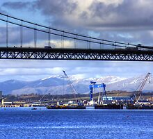 New Forth Crossing - 15 February 2013 by Tom Gomez