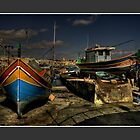 &quot;LUZZU BOATS MARSAXLOKK MALTA&quot; by RayFarrugia