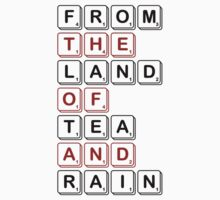From The Land of Tea and Rain Logo - Light variant by From The Land of Tea and Rain