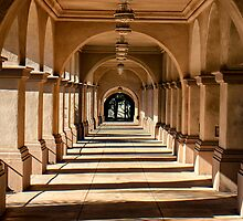 Balboa Park Walkway by Lauri Novak