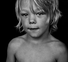 portrait of a boy by davidprentice