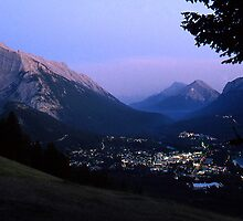 Banff @ Dusk by Photo-Bob