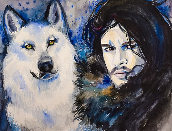 Game of Thrones-  Jon Snow by Slaveika Aladjova