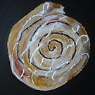 Cinnamon Swirl Bakery Still Life Acrylic Painting by JamesPeart