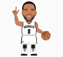 NBAToon of Deron Williams, player of Brooklyn Nets by D4RK0