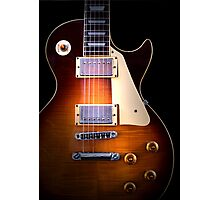 Curvaceous Guitar Photographic Print