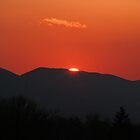 The Last Sliver Of Winter Sun by Gene Walls