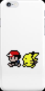 Ash and Pikachu by Milosz Wasowicz