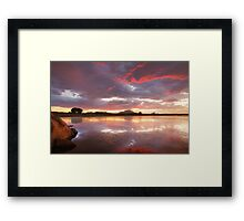 Color Calm 2 Framed Print