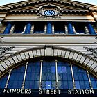 Flinders Street Station by Hanyes